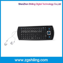 2.4ghz wireless optical mouse 2.4g rf keyboard tv remote control