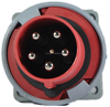 IP67 IEC Industrial socket Flange industrial socket 63A 5PIN Electrical plug&socket RS5352