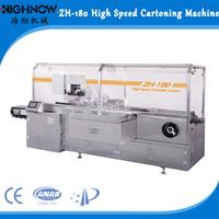 ZH-180 Automatic Carton Box Packing Machine