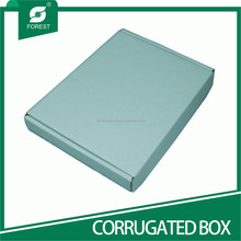 STANDARD SIZE PLAIN FOLDED CORRUGATED PAPER BOX