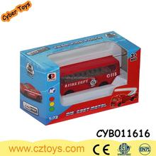 New 1:72 Diecast Car Toy For Kids die cast free wheel bus Toy