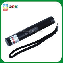 Manufacturer high quality red laser pointer rechargeable 301 laser flashlight with safe lock key