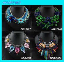 2015 popular wholesale fashion necklace with pendant, necklace