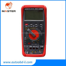Wholesale MST-2800B LCD Digital Multimeter for car & electronics products/mastech multimeter