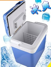 24L Portable Mini plastic cooler box mini fridge 12v car fridge freezer