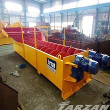 China famous small artificial sand washer for complete gravel production line