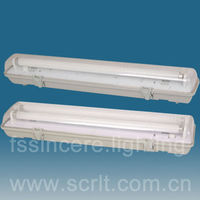 PC base and shade IP65 led water t8 fixture lamp led t8 water proof vapor light