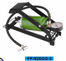 emergency kit foot pump for car tire inflator