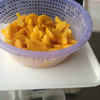 3KG irregular canned yellow peach sliced in juice