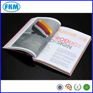 Top grade revestida cor livro impresso