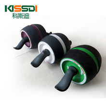 Brand New No Noise Green Abdominal Wheel Ab Roller With Mat For Exercise Fitness Equipment Free Shipping