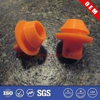 Orange furniture plastic end cap