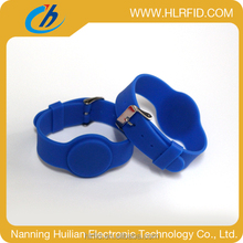 hot super quality concerts 13.56mhz chip rfid wristband