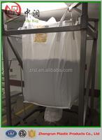 1 ton pp jumbo bag for 1 ton 1.5 ton sand/agriculture bag, pp woven jumbo bulk/container bag, durable cement packaging jumbo bag