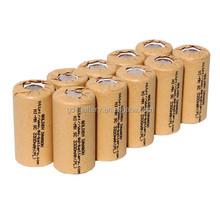 Sub-C 1.2V Nimh 2500mAh,SC battery cell,SC cell for power tool and vacuum cleaner battery