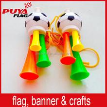 football noise maker trumpet/football fans horn for UEFA EURO 2016