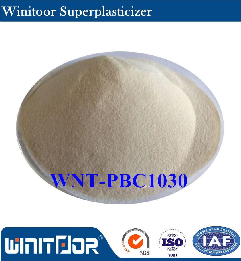 높은 품질 경쟁력있는 가격 폴리 카르 복실 기반의 감수제 콘크리트 첨가제