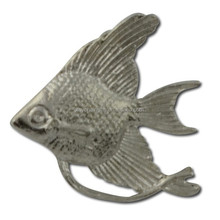 Animal shape metal Angelfish Lapel Pin