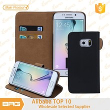 BRG $0.99 Cheapest Wallet Leather Case Cover for Samsung Galaxy s6 Edge