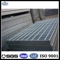 Galvanized banded steel grating