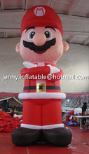 2015 New design event advertising inflatable christmas cartoon