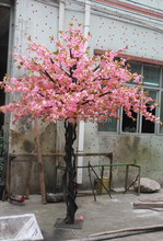 artificial trees cherry blossom pink cherry tree