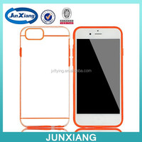 plastic transparent material case slim armor case hard back cover case compatibale for iphone 6 4.7inch
