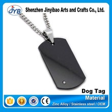 Lovers metal stainless steel blank dog tag for sale