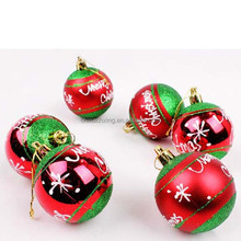 High Standart Festival New Decoration Christmas Tree Hanging Ball Supplies Factory Price