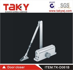 TK-D061B 162*19cm dimension alumium heavy duty door hinge