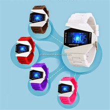 New Men Led Watch Silicone Pilot Led Watch Digital Silicone LED Watches