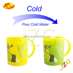 2015 the best gift for Wedding Christmas and so on Cool Design Touch Temperature Cup Heat Cup
