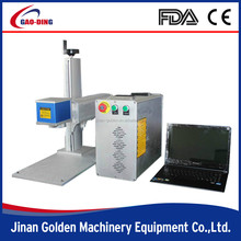 fiber pigeon rings laser marking machine with rotary