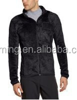 fleece lined polyester sport jacket