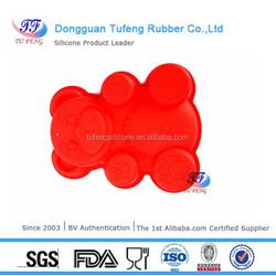 animal shaped kitchenware molding silicone rubber