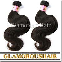 Natural brown body wave hair, cheap human hair weave, one donor Brazilian remy hair extensions