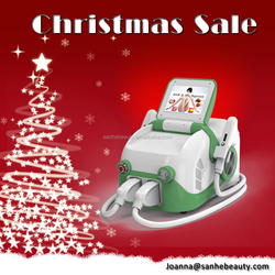 Christmas Promotion Portable IPL Beauty Equipment/Portable ipl+rf/IPL hair removal