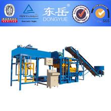 Machine de brique for making pave block QT4-25
