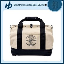 Classic fashionable canvas travel tote bag