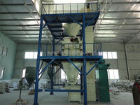 latest design space saving Decoration Mortar production machinery,wall and floor tile adhesive mortar machinery