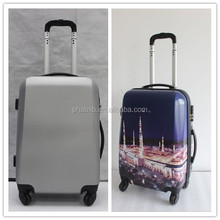 new arrival cheap abs two wheel suitcase for promotion