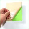 Color eva foam glue paper self adhesive foam eva