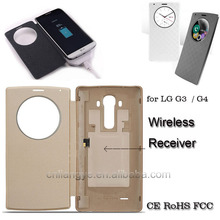 china supplier wholesale 10.1 inch tablet leather case qi wilreless receiver case