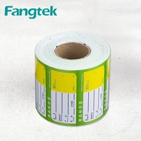 Custom Commodity Price Tag Label Rolls