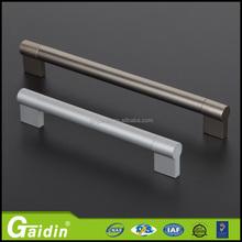 brushed sliver electrical fancy leather hidden for furniture hardware door drawer pull knobs aluminum cabinet handle