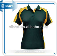 High Quality and Stylish Design Ladies Cool Dry Polo T-shirt,tailored collar polo shirts