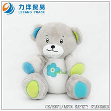 promotional soft plush bear for kids, Customised toys,CE/ASTM safety stardard
