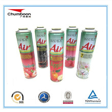 tinplate packaging empty aerosol can for filling foam, hair spray, car care, gas lighter, air fragrance