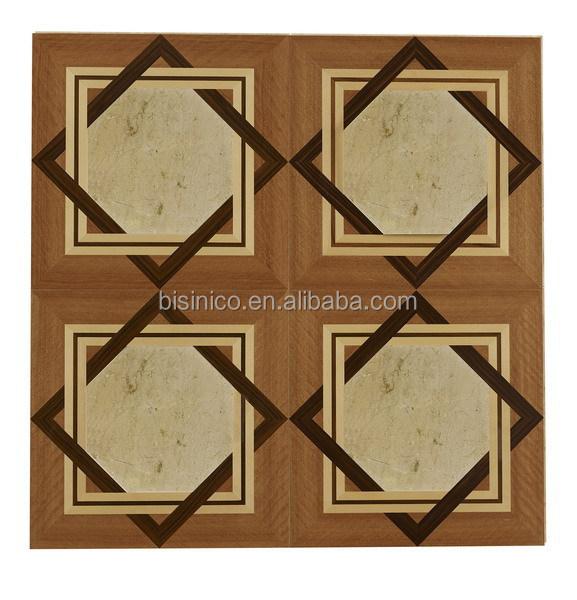 Elegant Wood Parquet Floor Boardwood Veneer Inlay Wooden Parquet