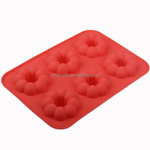 Good quality antique big and round silicone cake mold